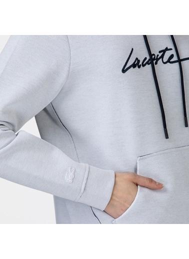 Lacoste Kadın Kapüşonlu Sweatshirt SF0112.12B Beyaz